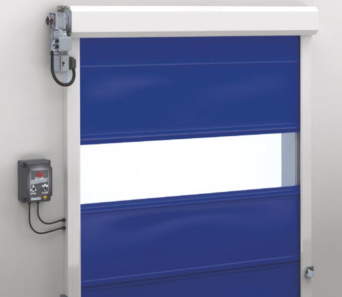 Puerta rapida enrollable kitdoor for Puerta enrollable