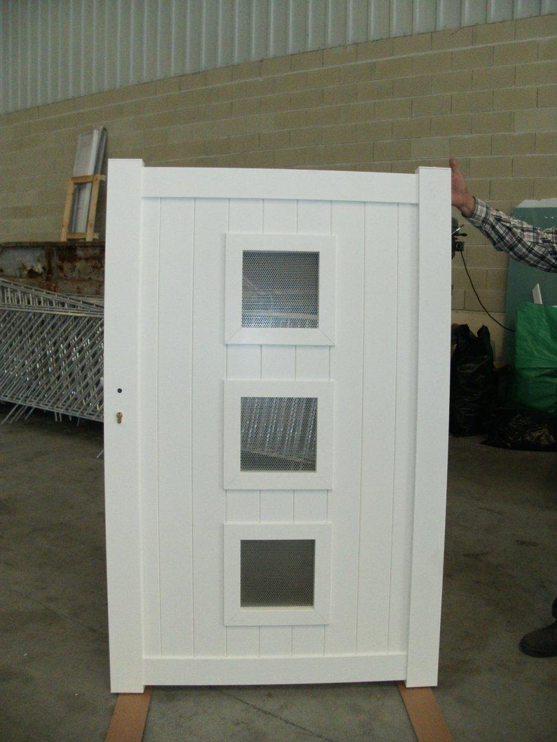 Puertas Batientes En Aluminio Kitdoor ~ Puertas Jardin Aluminio Precios