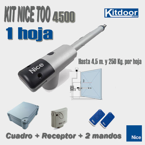 KIT 1HOJA BATIENTE NICE TOO4500