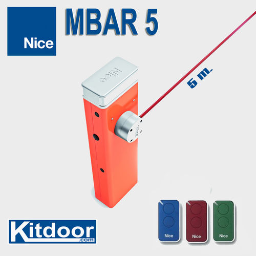 KIT BARRERA M-BAR 5 m.
