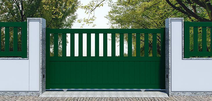 Puertas correderas en aluminio kitdoor - Puerta corredera de aluminio ...