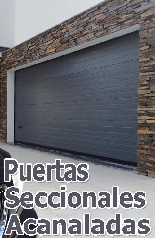 Puerta garaje corredera free puerta corredera telescopica - Puerta garaje abatible ...