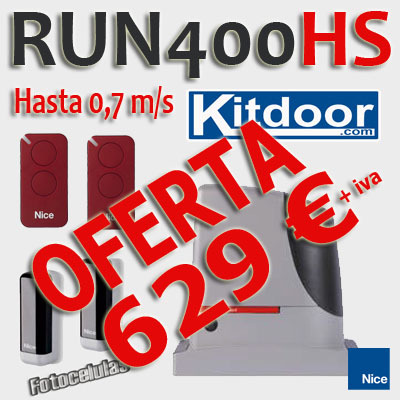 oferta_Automatismo_Nice_Hi-speed_run400hs